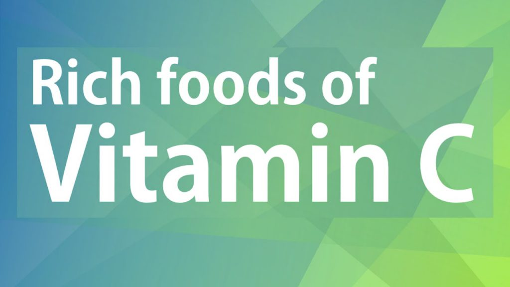Rich Foods Of Vitamin C Good Food Good Health Benefits