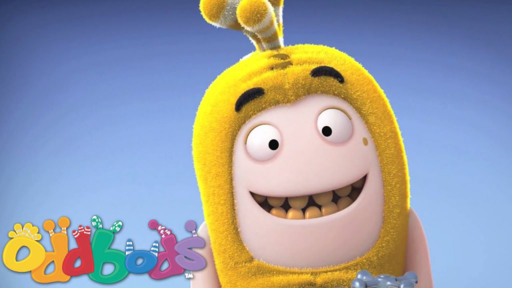 Oddbods Teeth Whitening