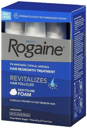 Rogaine for men hair regrowth treatment by unknown
