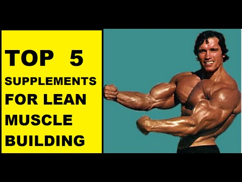 Supplements for bodybuilding top five supplements for