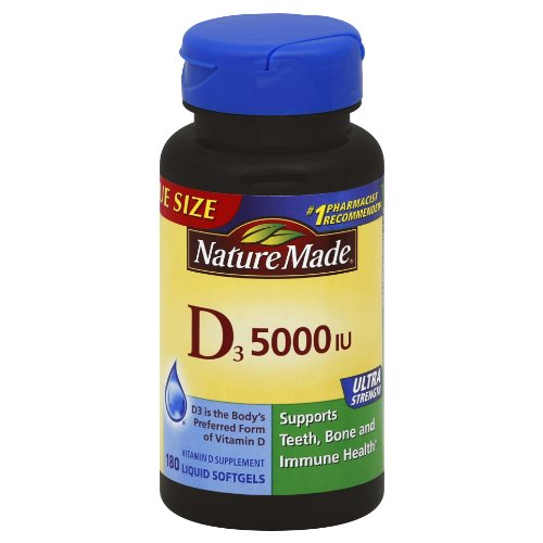 Nature Made Vitamin D  Iu Softgels