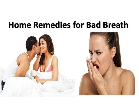 cure for halitosis