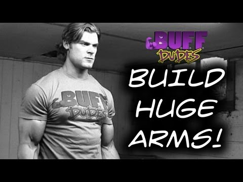 bicep building exercises