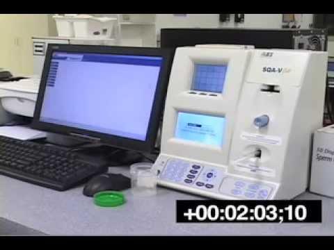 Automated Semen Analysis Sqa V Gold Sperm Quality
