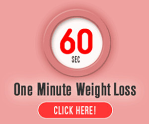 One Minute Weight Loss