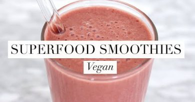6 Superfood Smoothies (Vegan/Plant-based) | JessBeautician AD