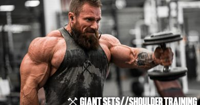 Giant Sets & Shoulder Training | Seth Feroce