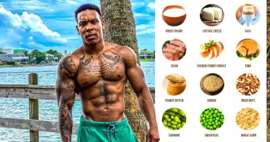 TOP 10 MUSCLE BUILDING FOODS