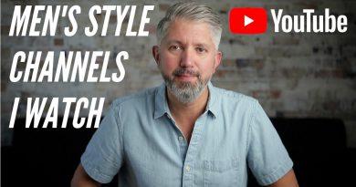 Top 10 Best Men's Style YouTube Channels