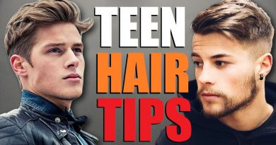 10 BEST Teen Hair Tips For a BETTER Hairstyle! (Young Men's Hair Advice)