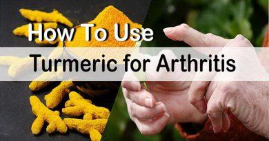 11 Ways How To Use Turmeric For Arthritis Treatment