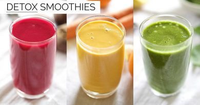 3 DETOX SMOOTHIE RECIPES | easy & healthy smoothies