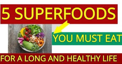 5 Superfoods for a Long, Healthy Life [Dr Gundry]
