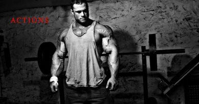 ACTIONS SPEAK LOUDER THAN WORDS [HD] Bodybuilding Motivation