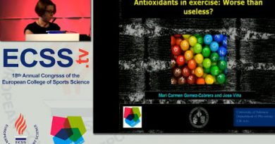 Antioxidants in exercise: Worse than useless? - Prof. Gomez-Cabrera
