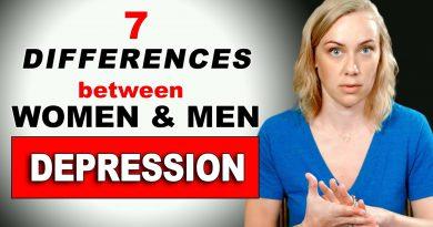 DEPRESSION: The 7 DIFFERENCES BETWEEN WOMEN & MEN | Kati Morton