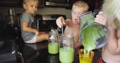 Delicious Green Smoothie Recipe for KIDS!