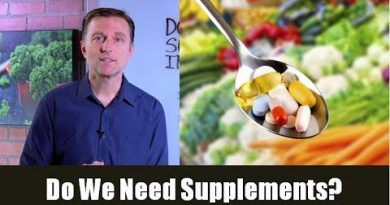 Do We Need Supplements (Vitamins & Minerals) If We Are Healthy?