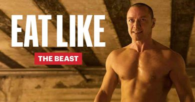Everything James McAvoy Ate to Get Massive for Glass | Eat Like a Celebrity | Men's Health