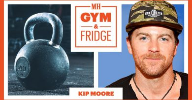 Kip Moore Shows His Nashville Gym & Fridge | Gym & Fridge | Men's Health