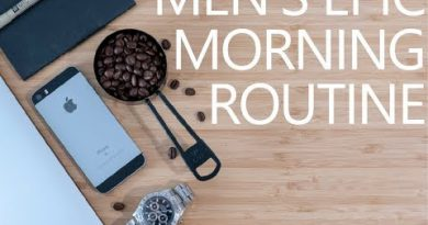 MEN'S EPIC MORNING ROUTINE [HD 4K] IDEAL LIFESTYLE