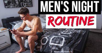 MY NIGHT TIME ROUTINE 2018 | Men's Lifestyle Tips | Josh Sullivan