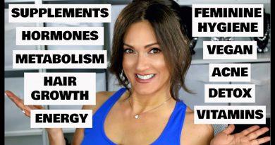 MY VITAMIN + SUPPLEMENT ROUTINE | Women's Health