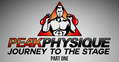 Peak Physique Natural Bodybuilding Documentary: A Natural Bodybuilders Journey to the Stage - Part 1