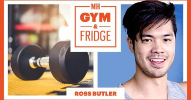 Ross Butler Shows His Gym & Fridge | Gym & Fridge | Men's Health