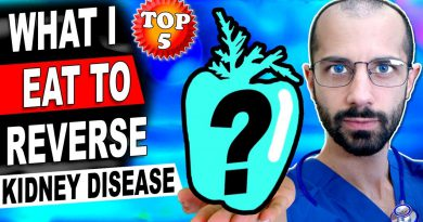 Top 5 Superfoods I Eat to Reverse Kidney Disease - My Renal Diet to Lower Creatinine
