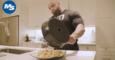 What Bodybuilders Eat for Lunch | Fouad Abiad's Easy Meal