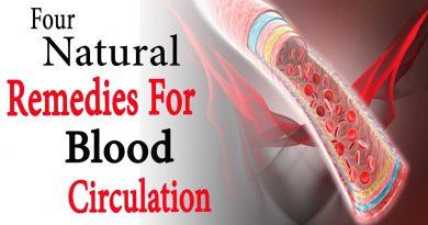 4 Natural Remedies For Blood Circulation   Natural Health