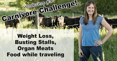 4-Week Carnivore Challenge Workshop #3: Weight Loss, Strictness, Organ Meats
