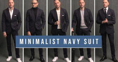 5 Minimalist Navy Suit Outfit Ideas   Men's Wardrobe Essentials