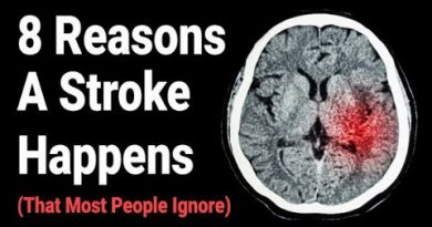 8 Reasons A Stroke Happens (That Most People Ignore)