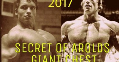 ARNOLD TELLS SECRET OF HIS GIANT CHEST | ARNOLD CHEST workout |2017