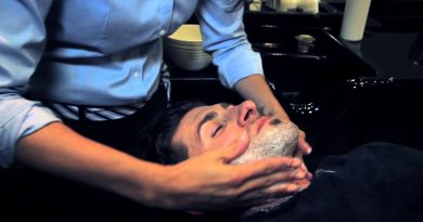 Alpha M. Goes To The Grooming Lounge For The Greatest Shave Ever!