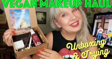 BIG Vegan Makeup Haul Unboxing & Trying Subscription Boxes