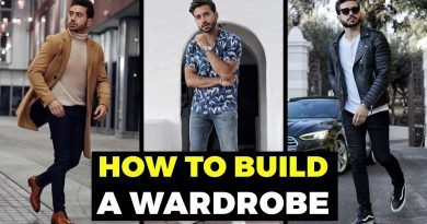 BUILDING A MEN'S WARDROBE For Beginners | The BASICS | Men's Fashion