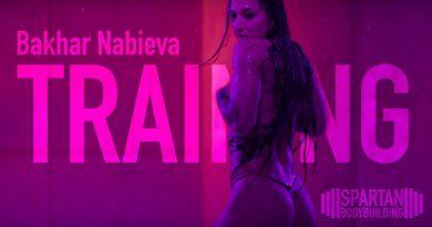 Bakhar Nabieva training legs | Spartan Bodybuilding