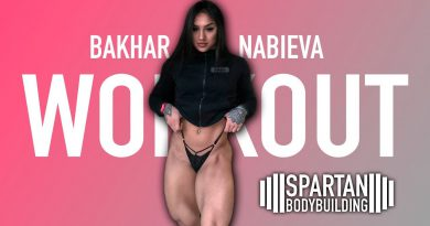 Bakhar Nabieva workout | Spartan Bodybuilding