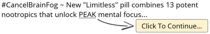 Limitless Brain Pill