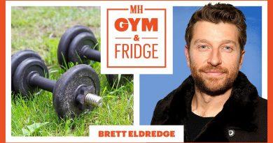 Brett Eldredge Shows His Gym & Fridge on Tour   Gym and Fridge   Men's Health