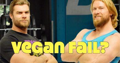 Buff Dudes Go Vegan for 30 Days: Vegan Deterioration Fail?