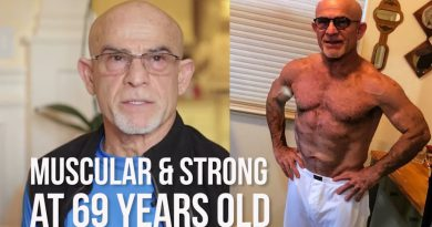Building Muscle @ 69 Years Old | Weight Lifting w/ Homi Shivaie