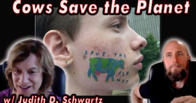 Cows Save the Planet | eat more meat for the environment | w/ Judith D. Schwartz