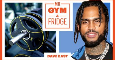Dave East Shows His Home Gym & Fridge | Gym & Fridge | Men's Health