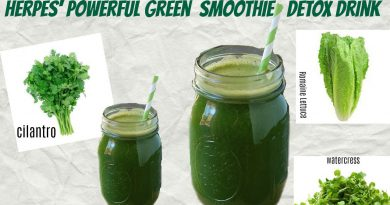 Destroy Herpes with a powerful green smoothie drink