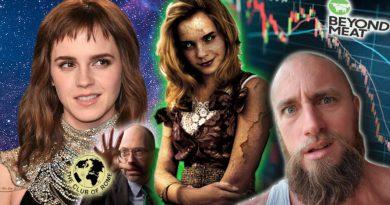 Emma Watson: Self-Partnered Vegan   Beyond Meat - too big to fail