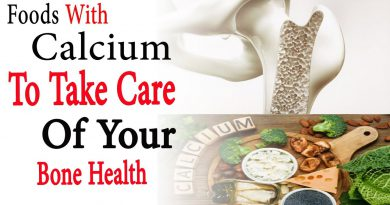 Foods with calcium and vitamin D to take care of your bone health